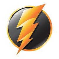 Elektrischer Blitz vektor