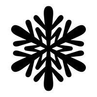 snöflinga vektorikonen vektor