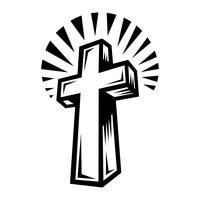 Christliches Kreuz vektor