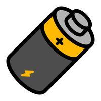 Batterie Energie Vektor Icon