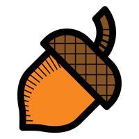 Eichel Logo Symbol vektor
