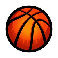 Basketball-Vektor vektor