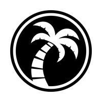 Palme Vektor Icon