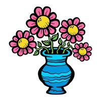 Cartoon Blume vektor