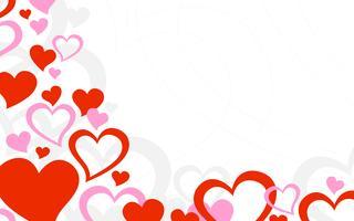 Hjärta Romantisk Kärlek grafisk vektor