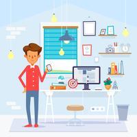 Startup-Konzept vektor