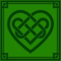 Keltische Knotenherz-Vektorillustration vektor