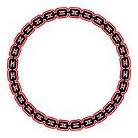 Kettenvektor-Symbol