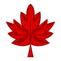 Autumn Maple Leaf-Vektor-Logo vektor