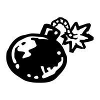 Bomba vektor
