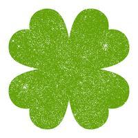 Glücklicher irischer Klee für St Patrick Tag