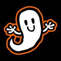 Tecknade Ghost vektor