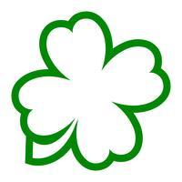 Glücklicher irischer Klee für St Patrick Tag vektor