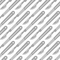 Skalpellwerkzeug für die medizinische Chirurgie vektor