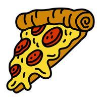 Pizza Slice Vector ikon