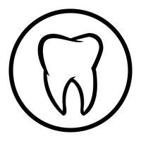 Zahn Vektor Icon