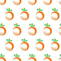 Orange frukt illustration vektor