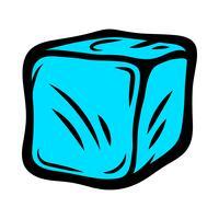 Gefrorene Eiswürfel für Getränke