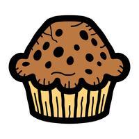 Muffin vektor