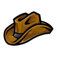 Western Cowboyhut vektor