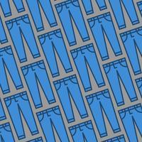 Blå jeans vektor