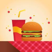 Sommer-Nahrungsmittelvektor
