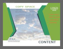 Präsentationslayout Design für Business-Vorlage, Inspiration für Ihr Design alle Medien.