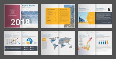 Geschäftsbericht für Firmenprofil & Werbeagenturbroschüre.