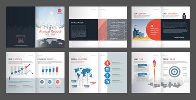 Årsredovisning för företagsprofil och reklambyrå.