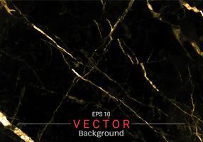 Guldmarmor, Vektormönster med gyllene foliestruktur på svart och mörk bakgrund. vektor
