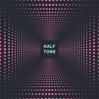 Dunkler Hintergrund und Beschaffenheit der abstrakten rosa Farbhalbtonraumperspektive
