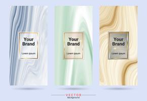 Förpackning produktdesign etikett och klistermärken mallar.