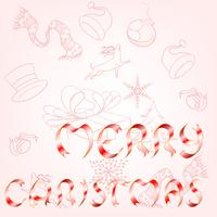 God Jul vektor