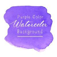 Lila abstrakt vattenfärg bakgrund. Vektor illustration.