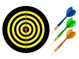 dartboard vektor