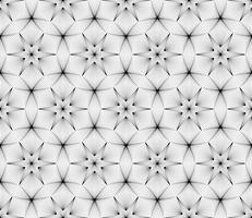 Abstrakter geometrischer nahtloser Hintergrund auf Vektorgrafik.
