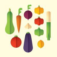 Buntes Gemüse-Set