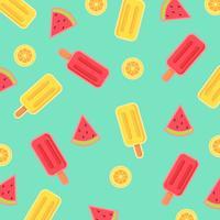 Sommar Ice Cream Vector