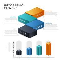 3D Infographik Vektor