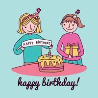 Födelsedagstjejer