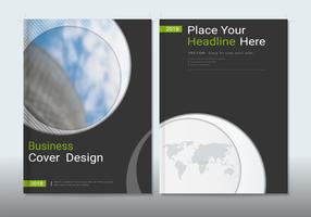 Täcker design med plats för fotobakgrunder.