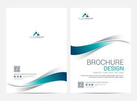 Broschüre Layoutvorlage, Cover-Design-Hintergrund