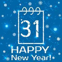 Neujahr vektor