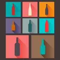 flaskor vektor