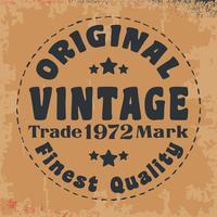 Ursprüngliche Vintage Briefmarke