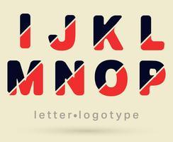 Letter-logotypen