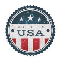 Made In USA Vintage Abzeichen Siegel