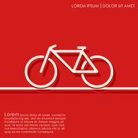 Fahrrad Hintergrund skizzieren