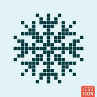 Snowflake ikonuppsättning