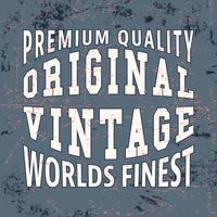 Feinster Vintage Stempel
